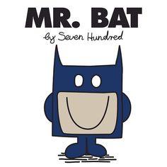 Mr. Bat - Mr. Men Super Heroes