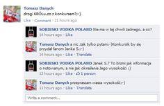 Branża alkoholi wysokoprocentowych na Facebooku [wódki]