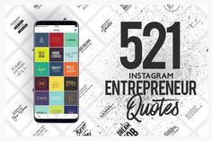 521 Entrepreneur Social Media Quote… by eviory on @creativemarket