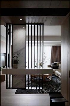 cool 42 stunning modern partition design ideas for living room more at hoomdsgn cool design hoomdsgn ideas living modern partition room Wall Partition Design, Living Room Partition, Living Room Divider, Divider Design, Divider Ideas, Partition Walls, Partition Ideas, Wall Design, Living Room Modern
