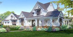 Elegant Farmhouse Living - Plan 16853WG