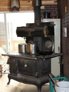 Building The Fire in Your Wood Cooking Range