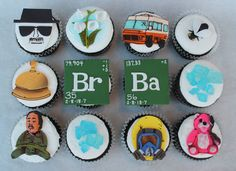 cupcakes I Breaking Bad