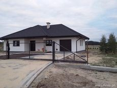 Realizacja HG-H3A CE My House Plans, Bedroom House Plans, Small House Plans, House Fence Design, Simple House Design, 2 Storey House, Entrance Design, Ranch Style Homes, Pool Houses