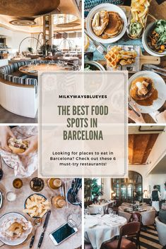 Looking for places to eat in Barcelona? Check out these 6 must-try restaurants!