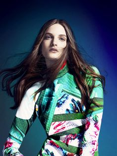 The Campaign: Mary Katrantzou for Adidas Originals