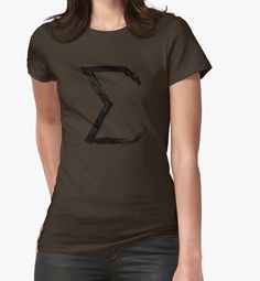"""Sigma Sign - Black Edition"" T-Shirts & Hoodies by Lidra 