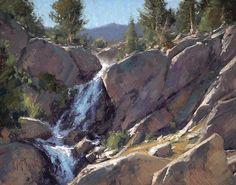 Hidden in the Sierras || Matt Smith, Oil on Board 11 x 14 in