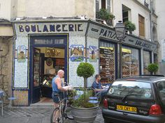 Le Marais Paris.  I have a really great photo of this shop as well.  Will pin it some time.