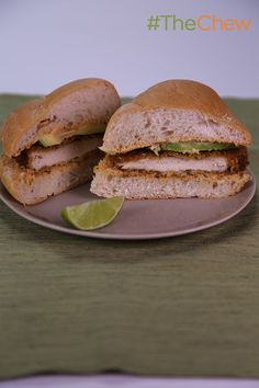 Switch up your sandwich-making habits and try your hand at this savory sammie! Torta Milanese by Mario Batali. #TheChew