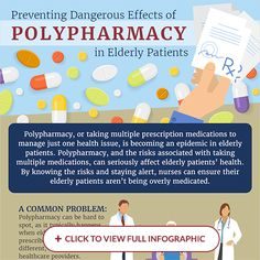 Polypharmacy, or taking multiple prescription medications to manage just one health issue, is becoming an epidemic in elderly patients....