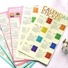 Calendars, Planners & Cards Zakka Miditerranean Sea Wooden Desk Calendar Desktop To Do List Daily Planner Book Office Desk Supplies Standing School