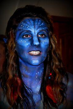 Halloween Avatar makeup tutorial   Halloween   Pinterest   Avatar ...