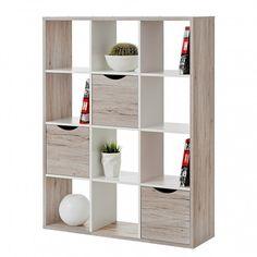 Raumteiler Annecy - Sandeiche / Weiß | Home24