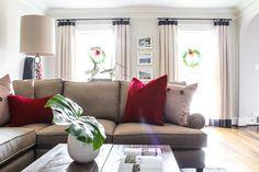 Nantucket Inspired Family Room