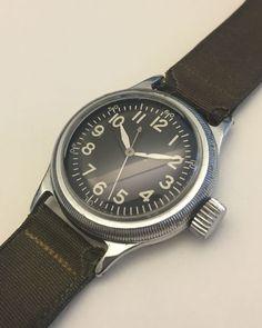 Vintage Elgin A 11 Military Watch WWII | eBay