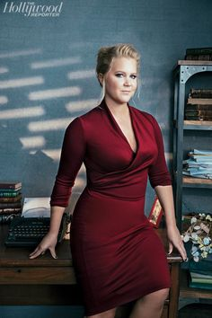 Amy Schumer---Straight shooter about sexual topics and sexy to boot!