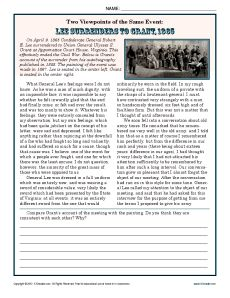 Printables 9th Grade Reading Comprehension Worksheets washington comprehension worksheets and reading in this worksheet your student will compare the writings of ulysses s grant with