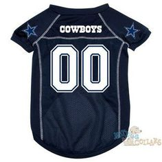 Dallas Cowboys NFL Football Dog Jersey - CLEARANCE