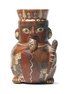 Wari Figural Vessel with Pan Pipe<br>ca. A.D. 600-1000 | Lot | Sotheby's