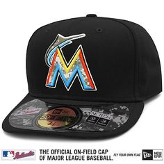 Miami Marlins Authentic 2012 Stars & Stripes Home Performance 59FIFTY On-Field Cap - MLB.com Shop