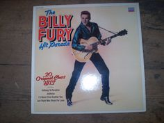 The Billy Fury Hit Parade Vinyl LP Album,Near Mint Condition - The Garden Room