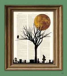 Spooky tree.