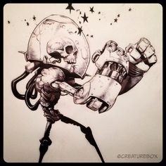 Awesome Robo!: Awesome-Robo Inktober Round-Up 2014! ★ || CHARACTER DESIGN REFERENCES (www.facebook.com/CharacterDesignReferences & pinterest.com/characterdesigh) • Love Character Design? Join the Character Design Challenge (link→ www.facebook.com/groups/CharacterDesignChallenge) Share your unique vision of a theme every month, promote your art and make new friends in a community of over 20.000 artists! || ★