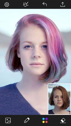 Beautify Plus-Hair Color Changer&Blemish Remover by Jingdan Ke ...