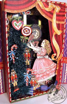 The Gentleman Crafter: Graphic 45 CHA Nutcracker Sweet Suite Unplugged!