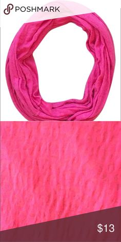 Pink Infinity Scarf Pink infinity scarf. jcpenney Accessories Scarves & Wraps