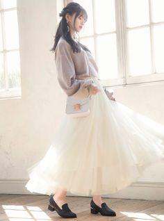 Saito Asuka, Japanese Beauty, Japanese Style, Cute Girls, Asian Girl, Portrait Photography, Tulle, Flower Girl Dresses, Girly