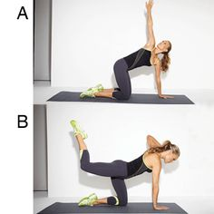 Molly Sims' Lower-Body Workout: Butt Blaster