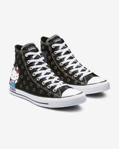 f749aa6348ccf8 Converse x Hello Kitty Chuck Taylor All Star High Top Big Kids  Shoe ...
