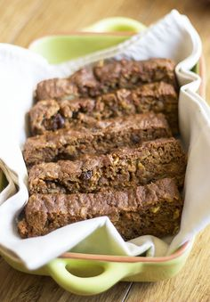 Sugar-Free Carrot Cake Bread! Only sweetened with fruit and nuts! #sugarfree #dairyfree #glutenfree By www.naturalsweetrecipes.com