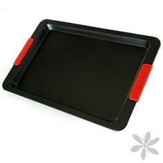 PETRA #Bandeja para #horno muy resistente, indispensable en el hogar. Fabricada en acero al carbono con asas de silicona. 10,65 €