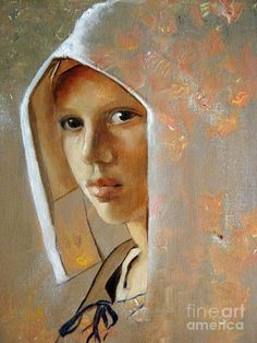 Vermeer on pinterest rembrandt girl with pearl earring and pieter