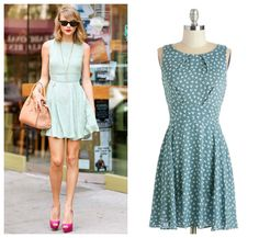 Get Taylor Swift's Look for less - casual Mod Cloth Dress #modcloth