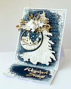 Cool Cards, Birthday Cards, Christmas Cards, Santa, Paper Crafts, Scrapbooking, Handmade, Collages, Card Ideas