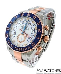 Rolex Yacht Master II Steel 18k Rose Gold | discount luxury watches | 300watches