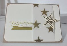 christmas card - stampin with beemybear