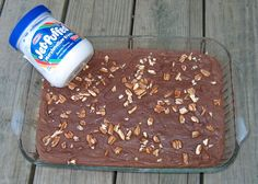 Original Fantasy Fudge with Marshmallow Cream:  If you are new at making fudge, it's hard to beat this recipe!!!  I do the microwave method.  Turns out a nice pan of chocolate fudge!