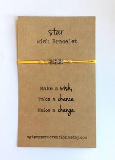 Wish Friendship Bracelet Silver STAR Beads Waxed Cotton Bracelet Packaging, Jewelry Packaging, Wish Bracelets, Bracelets For Men, Bracelet Crafts, Jewelry Crafts, Bracelet Making, Jewelry Making, Rakhi Design