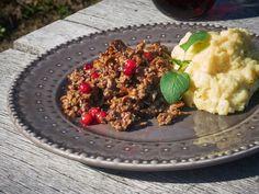 Renskav med kantareller och potatisstomp   Recept från Köket.se