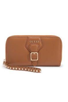 Modern Simplicity Leather Zip Wallet