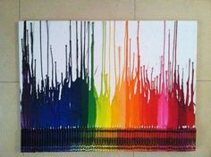 Start Out Learning The Basics Of Melting Crayons Onto Canvas.