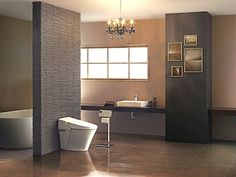 15 modern bathroom ideas for more luxury and comfort - Home Decoration Bath Trends, Bathroom Trends, Bathroom Ideas, Minimalist Bathroom Design, Modern Bathroom, Bed & Bath, Toilet, Home Goods, Luxury
