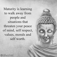 Peace, Morals & Self- respect
