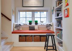 Fit a Window Seat in an Alcove for $90 | 32 DIY Storage Ideas for Small Spaces…