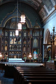 There's No Chapel In The World LIke St. Anthony's In Pittsburgh